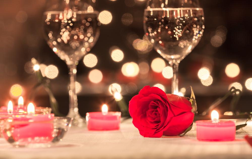 夜のデートの時