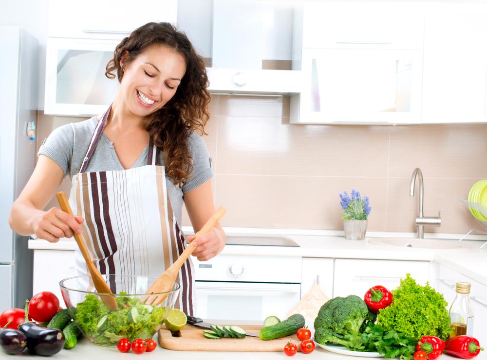 女性の手料理を食べた時