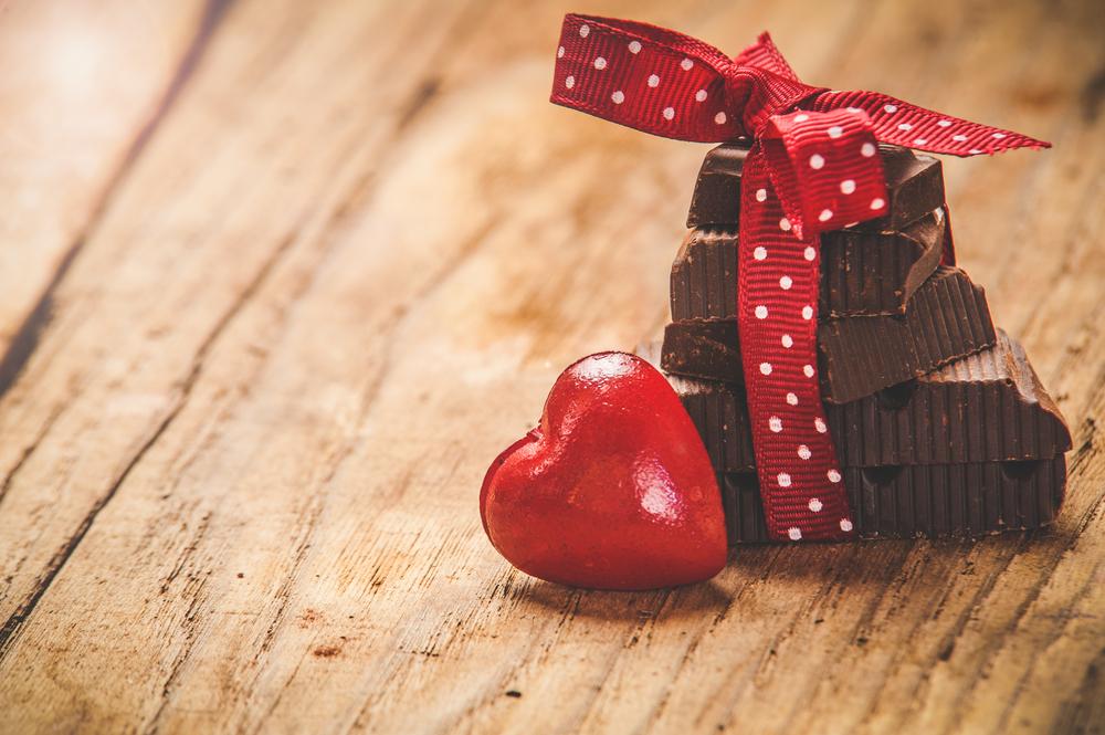 バレンタインで義理チョコをもらう
